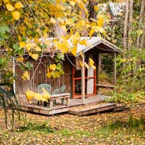 The Brook Cabin at The Tree House